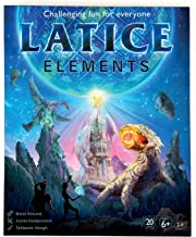 Latice Elements Strategy Card Game - A Game for Astronauts, Aliens, Spaceship Captains, Time Travellers, Dimensional Being...