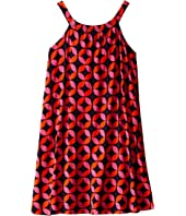 Hatley Kids - Graphic Lifesavers Shirred Dress (Toddler/Little Kids/Big Kids)