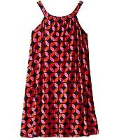 Hatley Kids - Graphic Lifesavers Shirred Dress (Toddler/Little Kids/Big Kids)