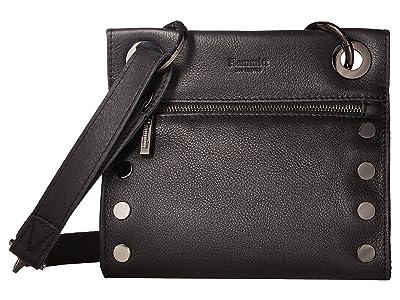 Hammitt Tony Small (Black/Gunmetal) Cross Body Handbags