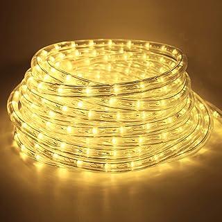 Forever Speed 12 m Wąż świetlny LED do Użytku na Zewnątr, Wodoodporny wąż LED Dekoracja i Oświetlenie, wąż świetlny LED na...