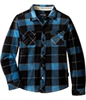 O'Neill Kids - Glacier Big Plaid Long Sleeve Shirt (Little Kids)