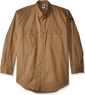 Revco - FS7 - Khaki - Xlarge Stallon FR Flame Resistant Cotton Work Shirt, FS7-KHK, X-Large