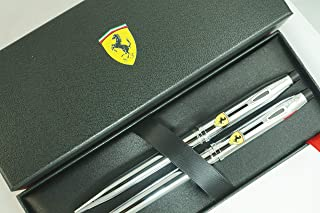 A.T Cross Century II Limited Collection Luxury Gift Series, Ferrari Inspired Medium nib Fountain Pen and ballpoint Pens