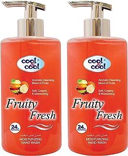 Cool & Cool Fruity Fresh Hand Wash 500ml Twin Pack