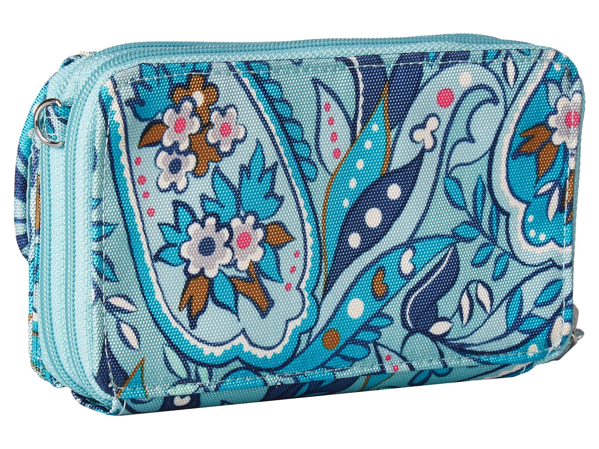 Rfid Lighten Paisley Crossbody in one Daisy Up Vera All Bradley qvtSwt