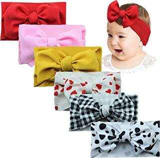 Headbands and Bows Hair Bands Turban for Baby Girls New Born Gifts