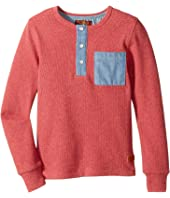 7 For All Mankind Kids - Long Sleeve Tee (Little Kids/Big Kids)