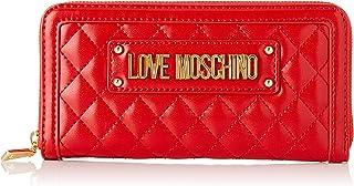 Love Moschino Quilted Nappa Pu, Portafoglio Donna
