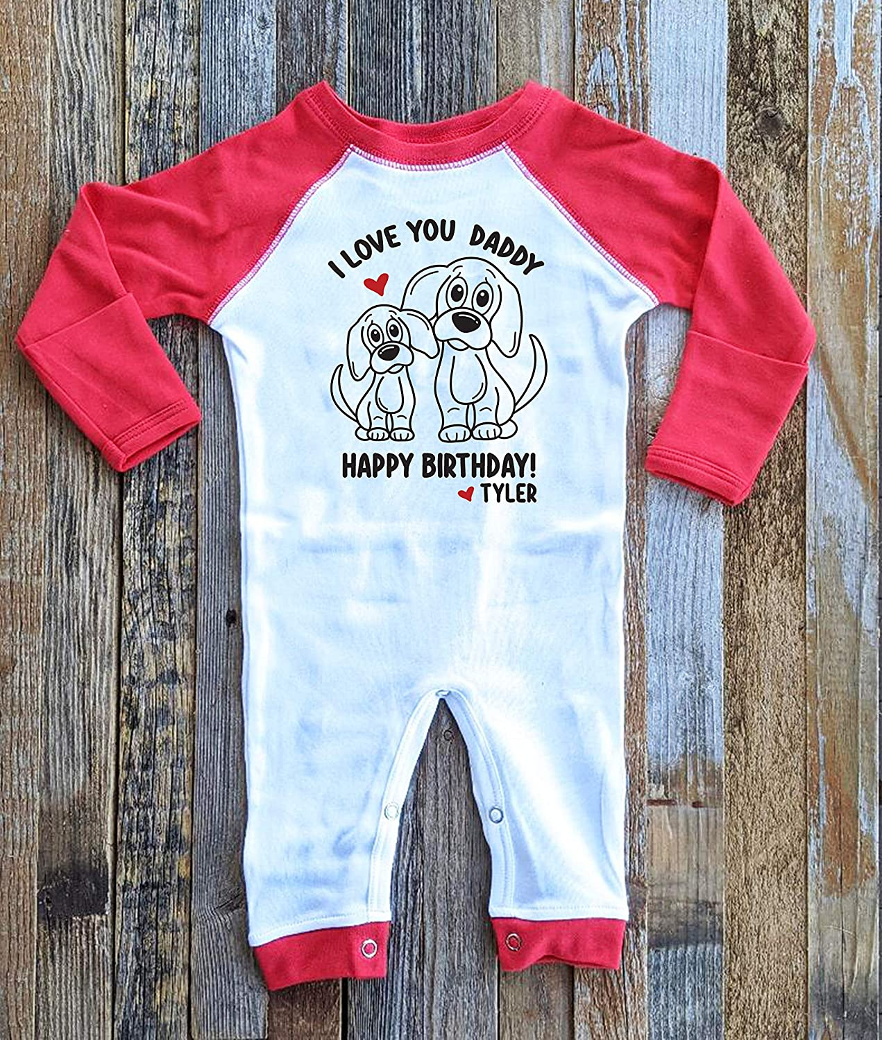 Happy Birthday Daddy I Love You for Romper Dad from Gift Ranking TOP10 Gifts Chicago Mall