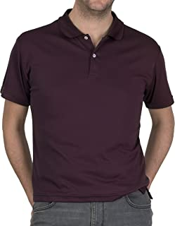 NanoDri Men's All Over Sweat Proof, Stain-Resistant Polo Shirt As Seen On Kickstarter