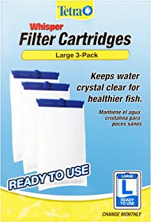 Tetra Whisper Large Aquarium Filter Cartridge 3pk