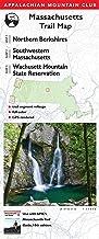 AMC Massachusetts Trail Maps 1–3: Northern Berkshires, Southwestern Massachusetts, and Wachusett Mountain State Reservatio...
