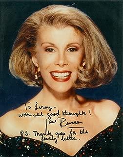 Joan Rivers Signed Autograph Personalized 8x10 Photo UACC