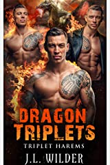 Dragon Triplets (Triplet Harems Book 1) Kindle Edition