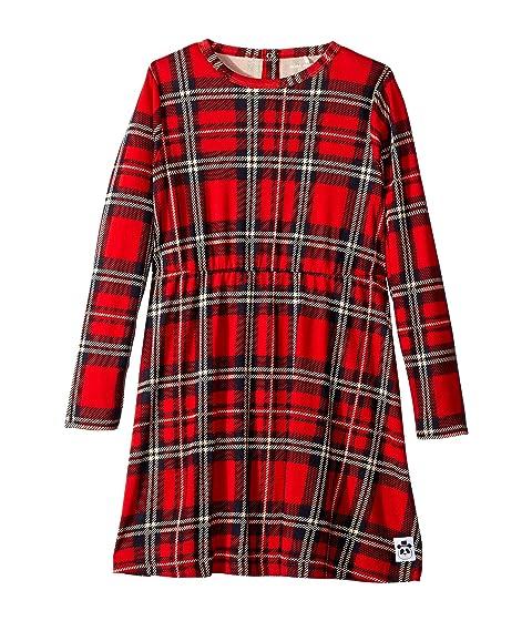 mini rodini Check Dress (Infant/Toddler/Little Kids/Big Kids)