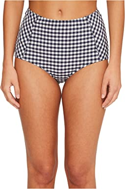 Gingham High-Waisted Bottom
