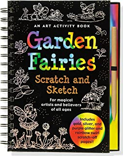 Garden Fairies Scratch and Sketch: An Art Activity for Magical Artists and Believers of All Ages (Scratch & Sketch)