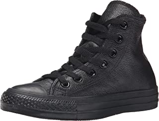 bb1dab8ec958 Converse Women s Chuck Taylor All Star Leather High Top Sneaker Black