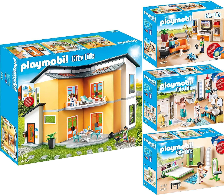Wohnzimmer + Wohnhaus Modernes 9271 9268 9267 9266 Set 4er ...