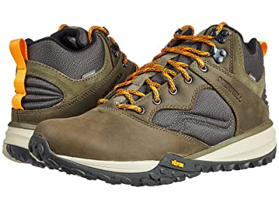 Merrell Havoc Wells Mid Waterproof (Olive) Men