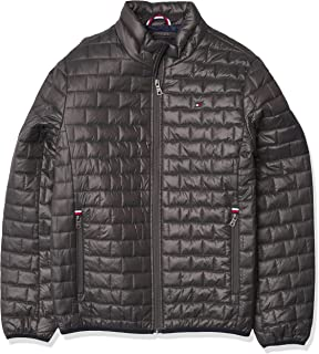 Men's Ultra Loft Sweaterweight Quilted Packable Jacket, Carbon, X-Large