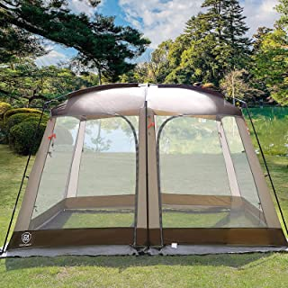 EVER ADVANCED Tent Screen House Room Outdoor Camping...