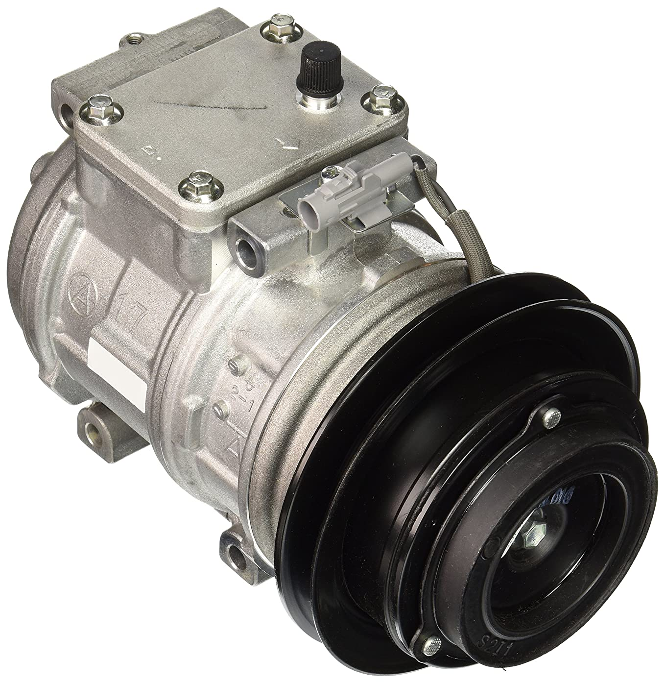 Denso 471-1244 New Compressor with Clutch