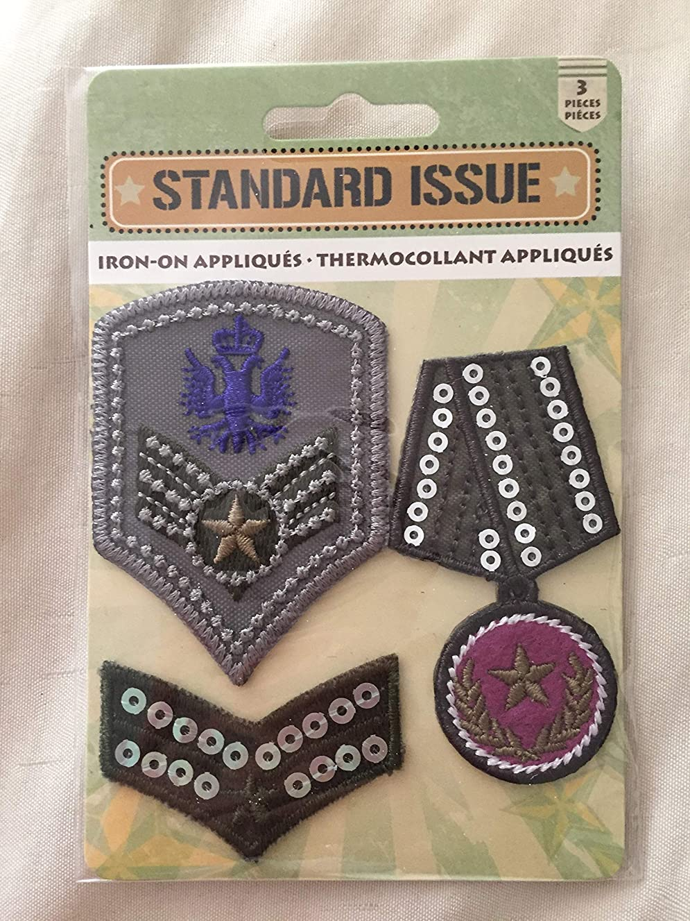 Standard Issue Iron-On Appliques