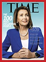 Time Magazine (April 29, 2019 - May 6, 2019) The 100 Most Influential People Nancy Pelosi Cover