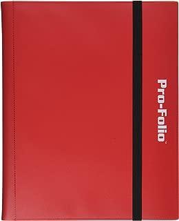 Pro-Folio 9-Pocket Album, Red