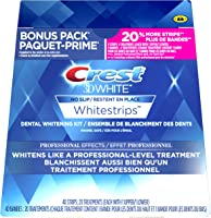 Crest 3d White Whitestrips Professional Effects, 20 Treatments + Bonus 20% More, 24 Count