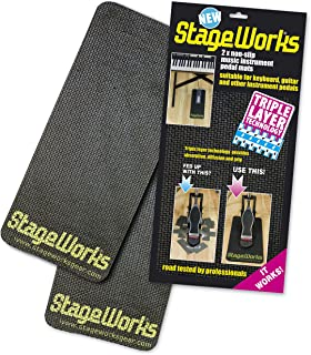 STAGEWORKS NON-SLIP PEDAL MAT Drum accessories General accessories