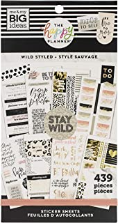 $26 » Happy Planner Value Stickers, Wild Styled, 439