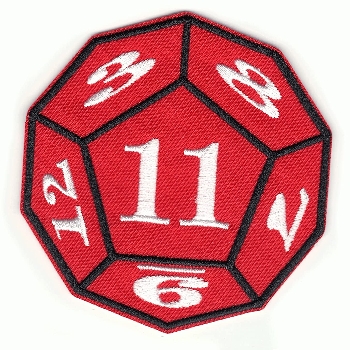 Stranger Things Game Dice Netflix Original TV Embroidered Iron On Patch