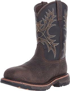 حذاء عمل Ariat WorkHog مقاوم للماء ذو مقدمة القدم المركب - حذاء رجالي آمن لأصابع القدم الغربية