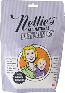 Nellie's Baby Powder Laundry Pouch Safe for Infants' Sensitive Skin, Non-Toxic, 1.6 Pound