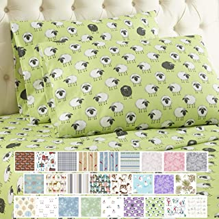 Thermee Micro Flannel Print Sheet Set