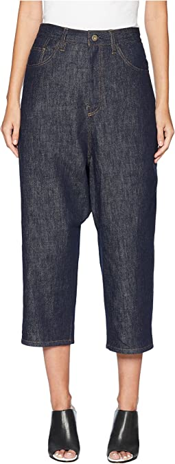 U-Gusset Drop Crotch Denim