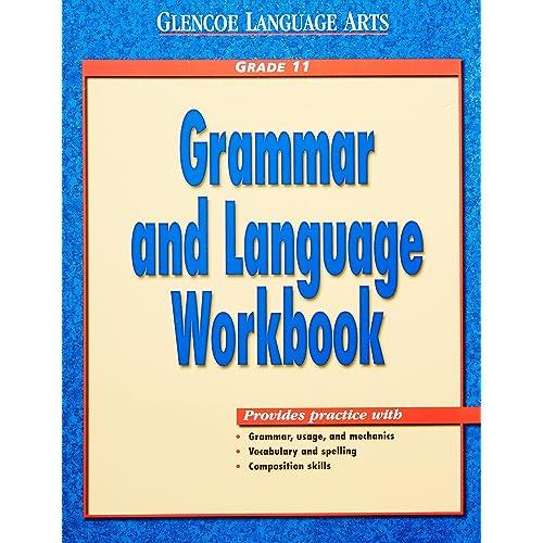 Glencoe Language Arts Grammar and Language Workbook Grade 11