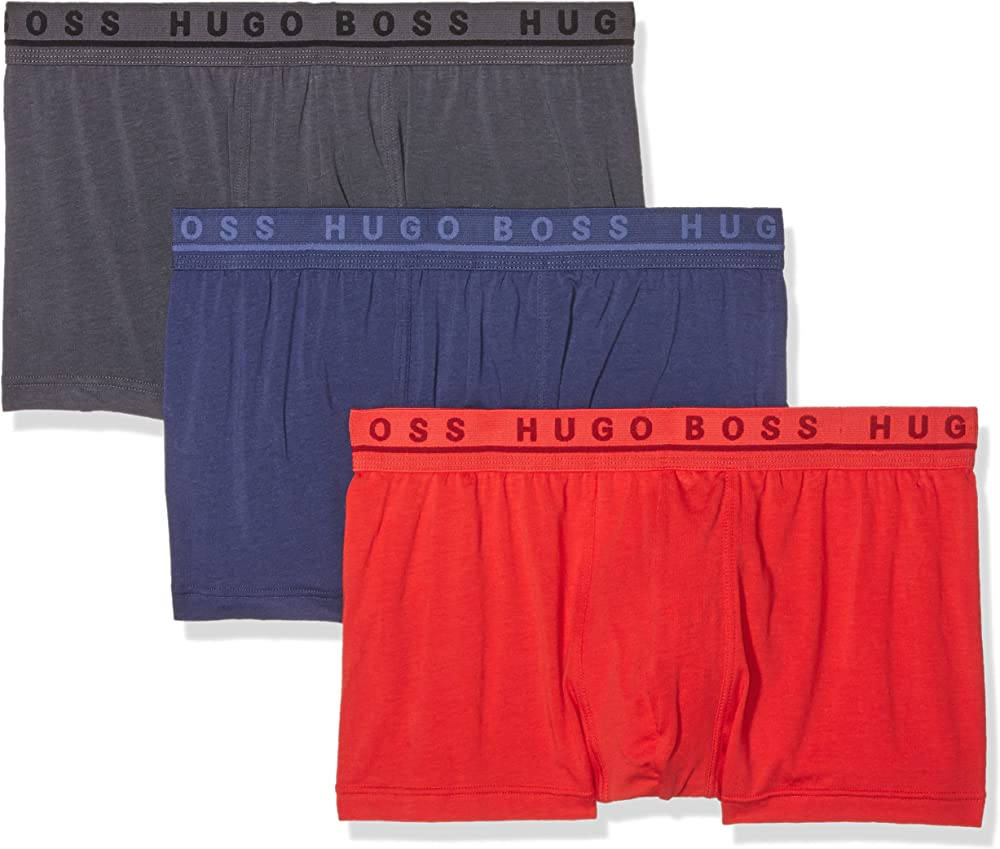 Boss,boxer a pantaloncino per uomo, (pacco da 3) ,in 95% cotone, 5% elastan 50271738