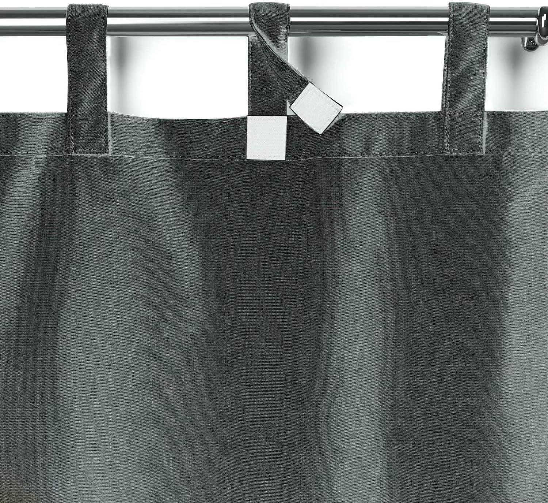 DarkGrau Outdoorvorhang mit Klebeband 132x215cm UniEco Garten Patio Ballon Vorh/änge Verdunkelungsvorh/änge Wasserdicht Mehltau Best/ändig f/ür Pavilion Strandhaus 1 St/ück