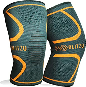 BLITZU Flex Plus Compression Knee Brace for Joint Pain