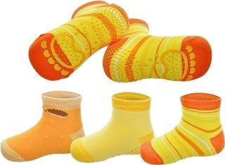 Anti Slip Skid Baby Socks | Non Toxic Silicon Grip For Toddler Kid (1-4 years)