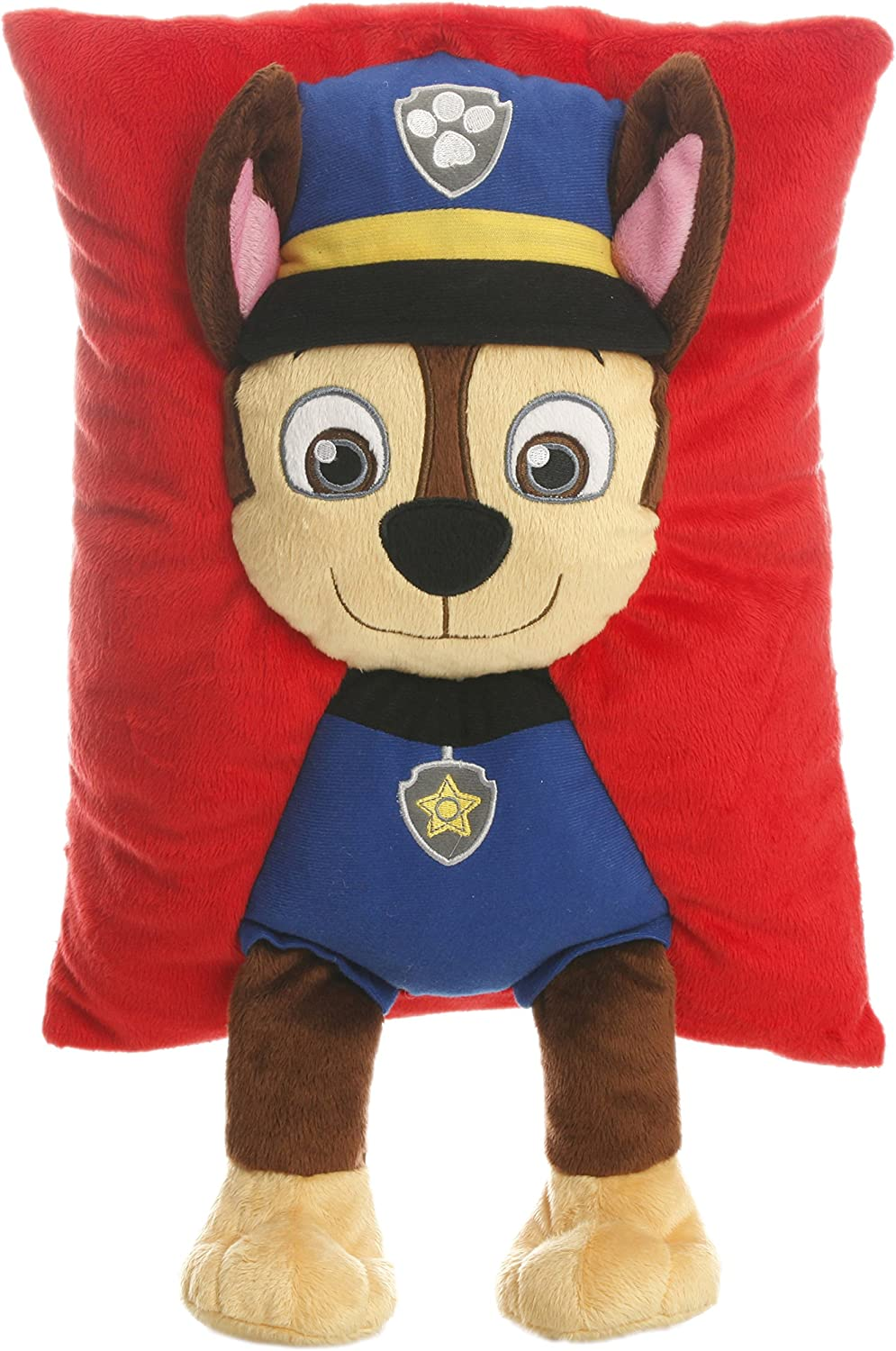 Paw Patrol Chase Decorative Pillow, Navy Red