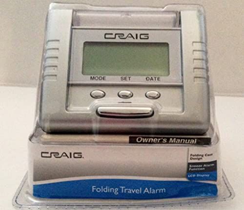 high quality Craig 2021 Folding sale Travel Alarm outlet sale