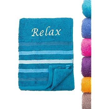 Unbekannt NatureMark/® SAUNAT/ÜCHER Premium Qualit/ät 80x200cm SAUNATUCH Sauna-Handtuch 100/% Baumwolle Farbe Royal blau
