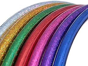 Kinderhoelahoep, glitterkleuren, Ø60/70/80 cm