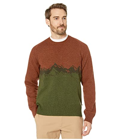 Fjallraven Greenland Re-Wool View Sweater (Autumn Leaf) Men
