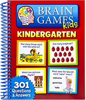 Brain Games Kids: Kindergarten 9781450800532
